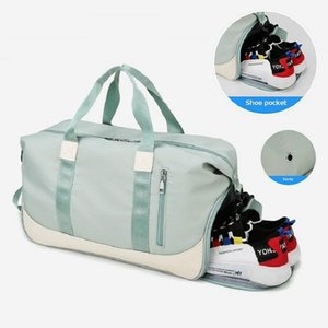 Men Women Sports Gym Bag High Capacity Multifunction Dry And Wet Separation Wimming Bag Lady Yoga Fitness Travel Handbag