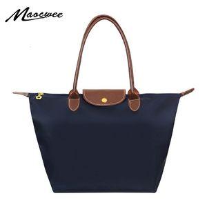 Дизайнер- Новый нейлоновый пляж мода сумка мертвый Оксфордские сумки на плечо женские водонепроницаемые вареники складной сумку