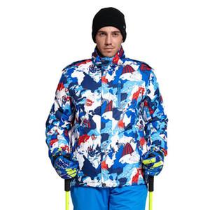 YABANİ KAR Yeni Kış Kayak Suit Erkekler Açık Termal Su geçirmez Snowboard Ceketler, D-1010 Kar Giyim Kayak Tırmanma