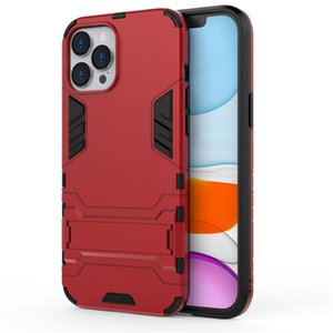 Good Quality For iphone12Pro Max For iphone12 Mini Max Invisible Kickstand Anti-drop Protective Cell Phone Case