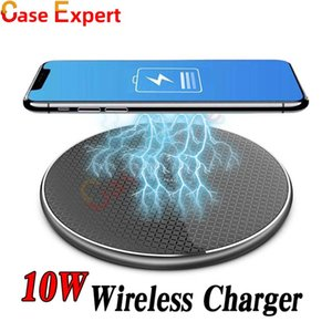 10W Fast Wireless Charger for iPhone 12 Pro Max XR XS MAX Samsung Note 20 Ultra Qi Wireless Charger Retail Package DHL Shipping