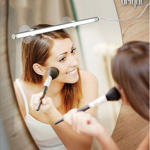 Batheroom Vanity Light 9W Portable LED Modern Waterproof Sconce Make Up Mirror Lights Wall Lamp for Bedroom Luminaria De Parede