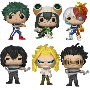 Funko pop My Hero Academia DEKU Training TODOROKI ALL MIGHT KATSUKI Vinyl Collection Action Figures Model Toys Birthday Gift Y200421