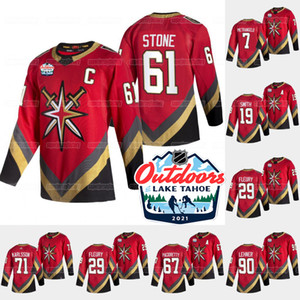 Vegas Golden Knights 2021 Otoño Domingo Retro Marc-Andre Fleury Alex Pietrangelo Ryan Reaves Robin Lehner Pictoretty Tuch Jersey