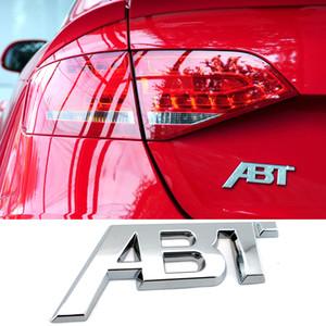 Metallo ABT Logo Nameplate Adesivo per Audi S1 QS7 TT RS3 SQ2 RS6 RS7 SQ7 A3 RS4 RS5 SQ8 A8L S6 A4 Q5 A1 S5 S4 A5 Tronco 3D Badge