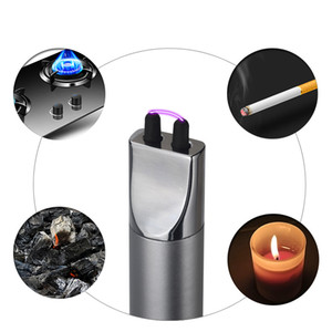 HOT NEW USB Charging Arc Electronic Lighter Kitchen Igniter Outdoor Barbecue Camping Pulse Lighter Windproof Spray