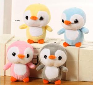 Hot sales Soft Fat Penguin Plush Toys 10cm Stuffed Cartoon Animal Doll Fashion Toy for Kids Baby Lovely Girls Christmas Birthday Gif