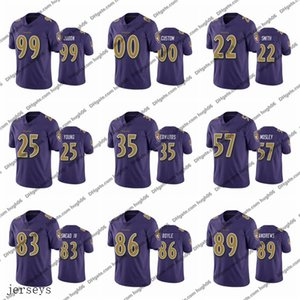 Colore rush limitato NFLBaltimore.Ravens personalizzato 22.Smith 25 Young 35 Edwards 57 Mosley 83 Snead IV 86 Boyle Andrews Judon Jerseys