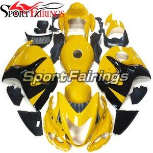 Farécences complètes pour Suzuki GSXR1300 Hayabusa 2008 2009 2011 2011 2013 2014 2014 2015 2017 2017 2018 2019 Bodywork Yellow