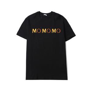 Mens Designer Tshirts Verão Homens e Mulheres Manga Curta Top Tees Distintivo Camisas Mens T Shirt Alto Quanlity Camiseta