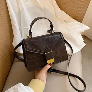 HBP Oblique Span Shoulder Handbag Purse Ladies Bag Plaid Bag Lerther Crossbody Handbag Zipper Backpack Small Square Bag Fast Shipping