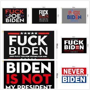 Biden Flag 90 * 150cm biden은 내 대통령의 배너가 아닙니다. Biden Harris Polyester Flag 배너 DDA845