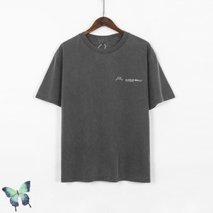 2021 Summer New Cav Empt Big Label T-shirt Men Women High Quality Solid Color t Shirt Vintage Wash T-shirts Fast Shipping Dv4s