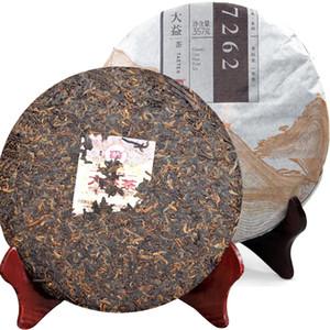 357G спелый PU ER Tea Dayi Classic 7572 PU ER Tea Cheap Organuage Puer red Puer Предрешенное дерево натуральный PU ERH Black Puerh чайный торт