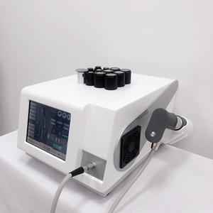 Equipo de terapia de onda de descarga extracorpórea Equipo de terapia física Onda de choque Máquina portátil con 3 ondas diferentes