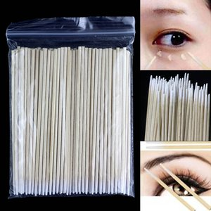100pcs Cotton Swabs Semi-Permanent Tattoo With Pointed Cotton Swabs Practical Disposable Cotton Swabs 10cm Health Care Items