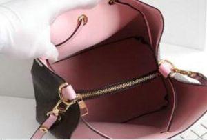 Новый 5COLOR Bucket Bag Bag Bag Bag Messenger Bag Lady мода кожа