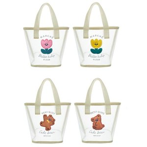 Women Ladies Cute Embroidered Mesh Handbag Lady Top Handle Casual Summer Beach Tote Portable Shopping Bags Purse