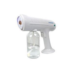 1300 Вт беспроводной Nano Steam Blue Light Spray Disinfection Sprayer Pun Fool Axargeable батареи Беспроводная автоматизация CCA12632