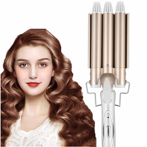 Curling Iron Wand 22mm Hair Curling Irons 32mm Hair Crimper Ceramic Triple Barrel Hair Curler Waving Styling Tools