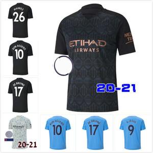 20 21시 축구 유니폼 2020 2021 사람 STERLING 축구 셔츠 맨체스터 KUN 아궤로 DE BRUYNE GESUS 베르나르도 메바 로드리고