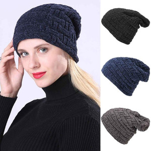 2020 Winter Women Knitted Hat Twist Design Beanie Women's Autumn Warm Skull Cap Bonnet Femme Gorros Mujer Invierno Chapeu New