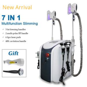 Cryolipolysis Fat Freezing Coolsculpting Machine Waist Slimming Cavitation Rf Machine Fat Reduction Lipo Laser 3 Cryo Heads Work Together #8