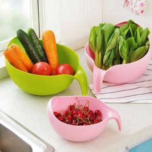 Riz Filtre de lavage Filtre Creative Plastique Haricots Nettoyage Gadget Utile Pratique Cuisine Outil gratuite DHE3124