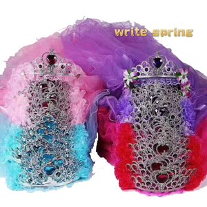 20pcs pack Beautiful children's headwear Crown wreath headdress party dress Wholesale price of festival decorations