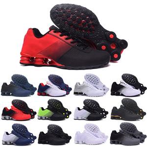 Shox 809 803 R4 Livrer 809 Coussin TN Chaussures de course Triple Noir Blanc Femmes Sport Baskets homme respirant en plein air Sneakers Athletic 40-46 G52