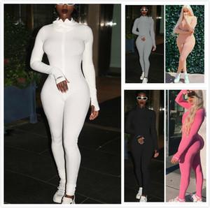 Designer Women Jumpsuit Rompers Pajama Womens Onesies Long Sleeve Playsuits Plus Size Dhl Styles Clothing 816-1