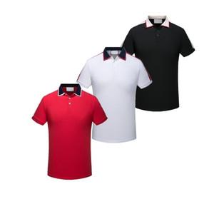 Männer und Frauen Italienisch Luxus Poloshirt Marke Stickerei Nähen Kleidung Herren Stoff Brief Polo T-Shirt Kragen Casual Desinger Polos