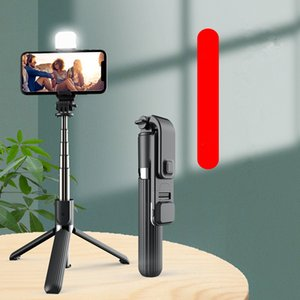 hot L03S fill light Selfie pole Bluetooth integrated tripod multi-function camera LED bracket universal free shipping
