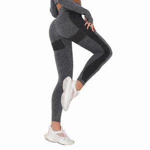 Yoga Abiti Black Workout Leggings Donna Fitness Running Pantaloni Stretch Stretch Sport Sport Sport Jogging Womens Elenco collant