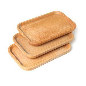 Plaque en bois plat carré fruits plateau plateau plat dessert biscuits plat plat plat plateau plateau plateau bois porte-tampon tampon de vaisselle mat bwc4700