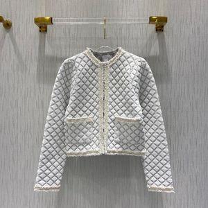 2020 Early Fall Luxury Paris Designer High Quality Classic O-neck Quilted Short Elegant Blazer
