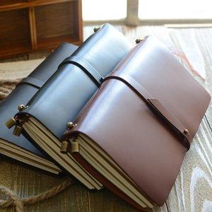 """""""Endless Story l"""" Grande Real Real Genuine Cowhide Leather Revista de viagens Negócios Negócio Estudo do Notebook Diário Em Branco Papers1"""