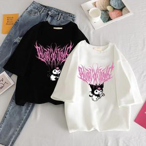 y2k T shirt street aesthetic T shirt bratz Rap hip hop Street Rock Harajuku Gothic