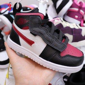 Luxus-Kindergymnastik Rot aus Basketballschuhe Kinder Jungen Mädchen Teen Sneakers Kleinkind Designer Kinder Turnschuhe