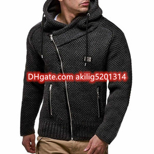 2020 New Mens polo Crocodile Sweater sted Needle Knitted Cotton O-neck Sweater Pullover fashion paris Sweater Embroidery sweaters Szie M-3XL