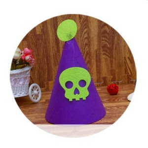 New Fashion Children's Halloween Costumes For Boys And Girls Halloween Pumpkin Hats Party Essential Role Playing