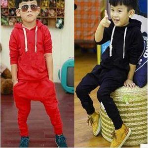 2 colors Toddler Baby Boys Clothes T Shirt+Pants Kids Sportswear Clothes Children clothing autumn kids designer clothes sets 1-7Y ears