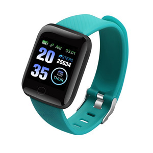 Fitness Tracker ID116 PLUS Smart Bracelet With Heart Rate Smart Watchband Blood Pressure Wristband PK ID115 PLUS 116 PLUS for Fitbit MI