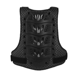 Anti-collision Armor Kid Protective Vest Outdoor Sports Protective Gear Vest for Riding Sports (Size M, Black)