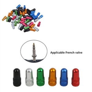 A Cycle Aluminum Accessorie Wheel Tire Valve Stem Caps Airtight Covers Bicycle Cap Wheel Tire Covered