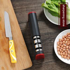 Кухня быстрая вольфрамовая стальная точилка модернизированная трехступенчатая быстрая точилка для заточки ножа заточка точика точить камень vtky2302