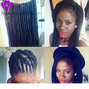 Synthetic Lace Front Box Braids Wigs Black Heat Resistant Crochet Braiding Hair for Women Party Long cosplay Wig