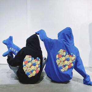 Hoodie European и American Hip Hop Письмо Печать Свободные Любители свитера с капюшоном Пальто мужской и женской моды