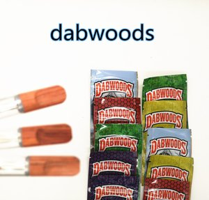 Dabwoods Cartridge 0.8ml 1ml Ceramic Coil Atomizers 2.0mm Thick Oil Electronic Cigarettes Empty Vape Pen Cartridge Packaging
