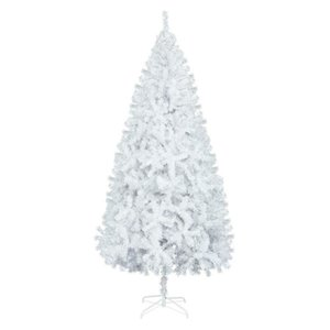 7FT White Christmas Tree W Stand Xmas Holiday Season Decor Indoor Outdoor NEW